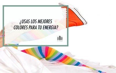 ¿Usas los mejores colores para tu energía?
